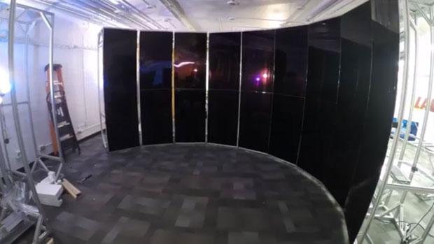 CyberCANOE as it was being built