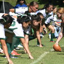 Women law students and graduates battle in the annual Ete Bowl