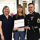 Honolulu CC chancellor receives patriot award