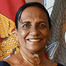 Kusuma Cooray honored for work in U.S.-Sri Lanka relations