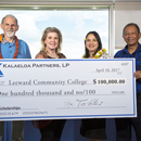 $100K from Kalaeloa Partners funds scholarships at Leeward CC
