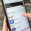 Mobile-optimized MyUH Services launches for students, faculty and staff