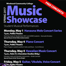 Student musical talent showcased at spring concerts