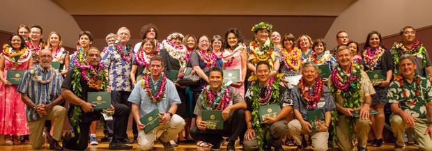 2017 U H Manoa Award Honorees