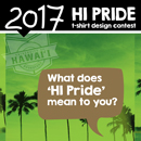 Vote now! HI Pride T-shirt design contest