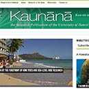 Kaunānā e-magazine showcases UH Mānoa research