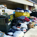 14,105 pounds of donations saved from trash during student housing move-out