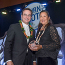 Marjorie Mau honored with Creighton University alumni award