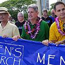 UH joins hundreds in Men's March Against Violence