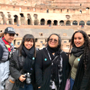 UH Hilo English majors present at Rome conference