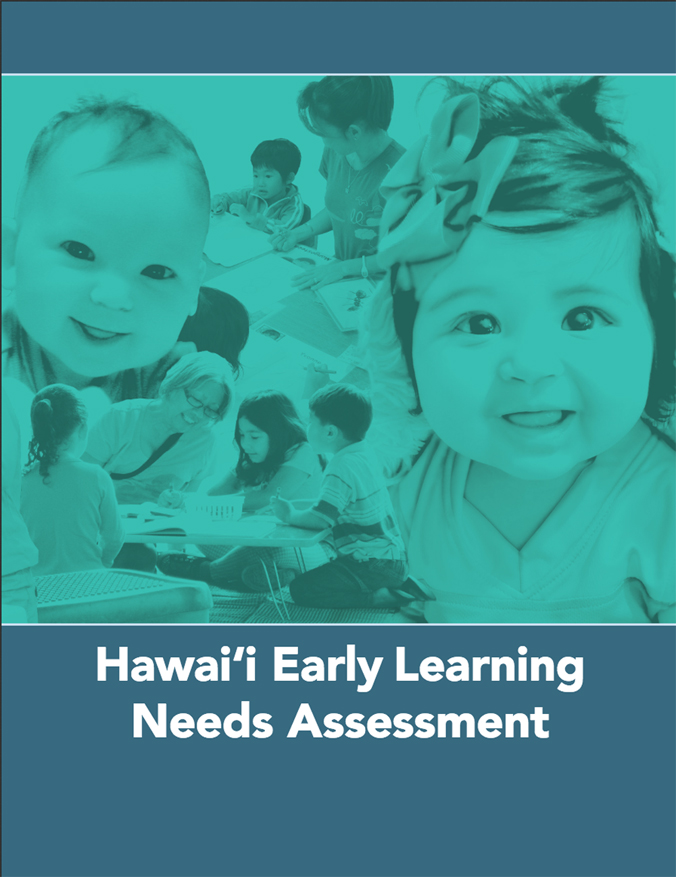 Hawaii Early Learning Need Assessment report cover