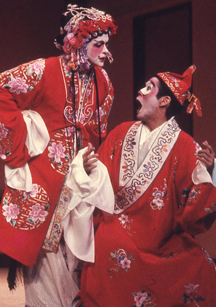 Actors in Chinese costume