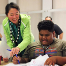 Middle-schoolers and teachers attend UH research and engineering design clinic