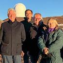 Clintons visit Maunakea