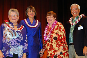 MRC Greenwood, Linda Lingle, Sandie Carmichael, Howard Karr,