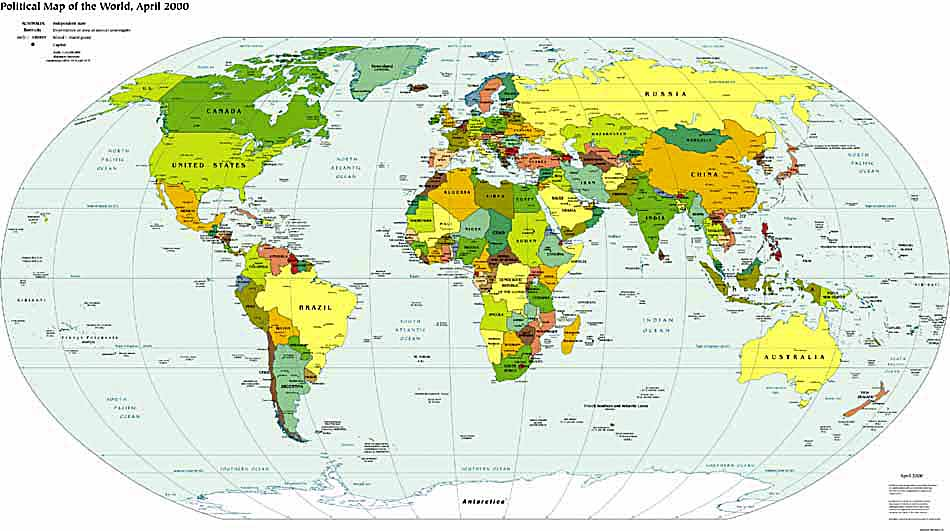 World Map Mexico. the present world map)