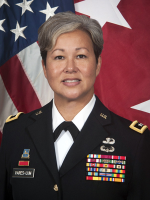 Maj. Gen. Suzanne Vares-Lum
