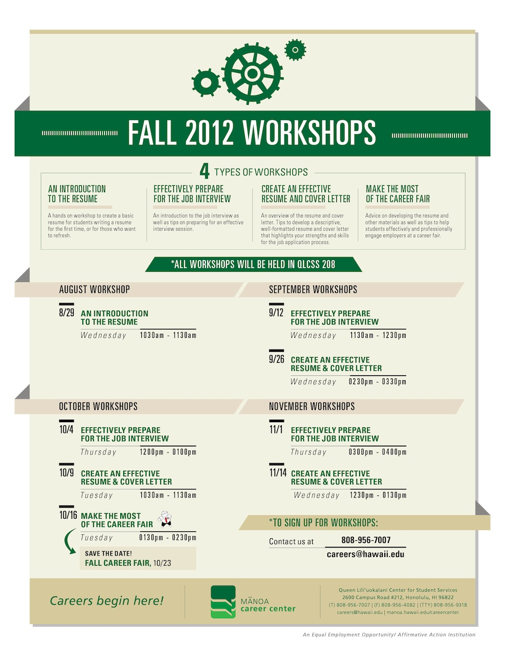 uh manoa campus events calendar