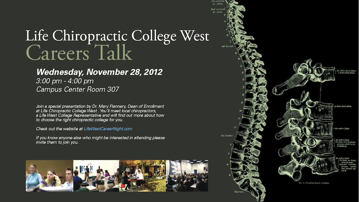 Chiropractic college coures