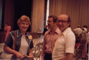 Photo of Ruth Crymes at TESOL conference