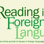 Reading in a Foreign Language banner