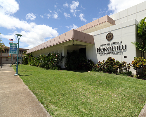 Building At Honolulu Community College