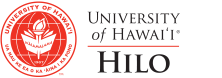 UH Hilo seal and nameplate