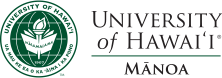 UH Manoa seal and name