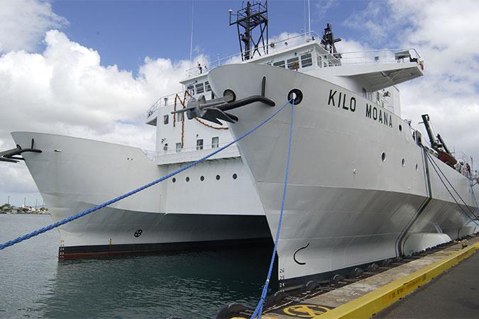 Kilo Moana ship