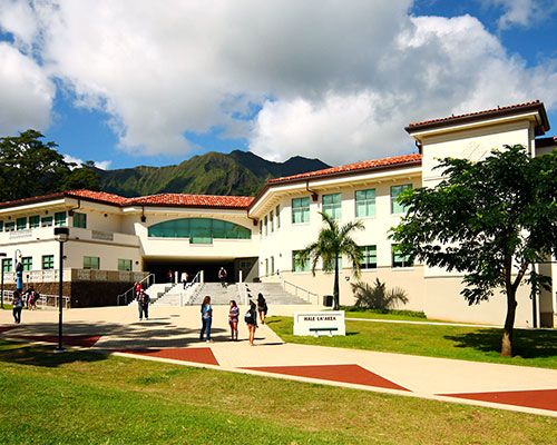 Buiding at Windward Community College