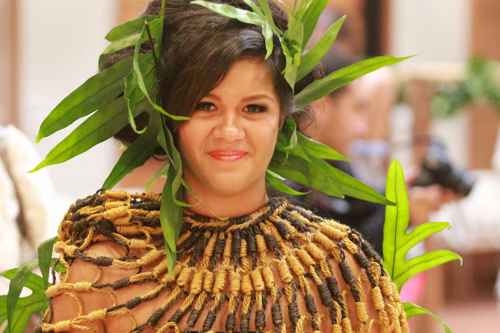 woman in wearable art costume