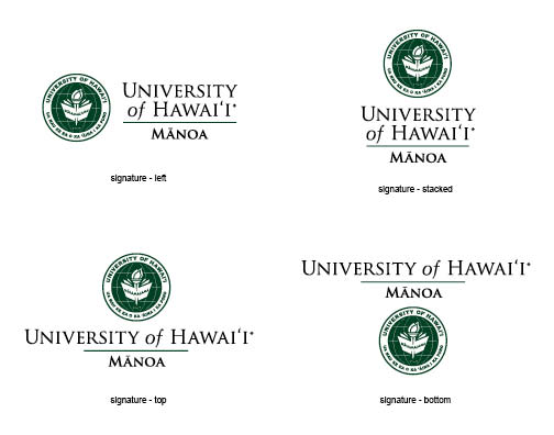 Campus signature examples university of hawaii system examples of uh manoa signatures reheart Gallery