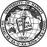The formal University of Hawaii seal