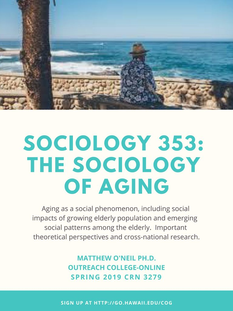 Class Flyer for SOC 353