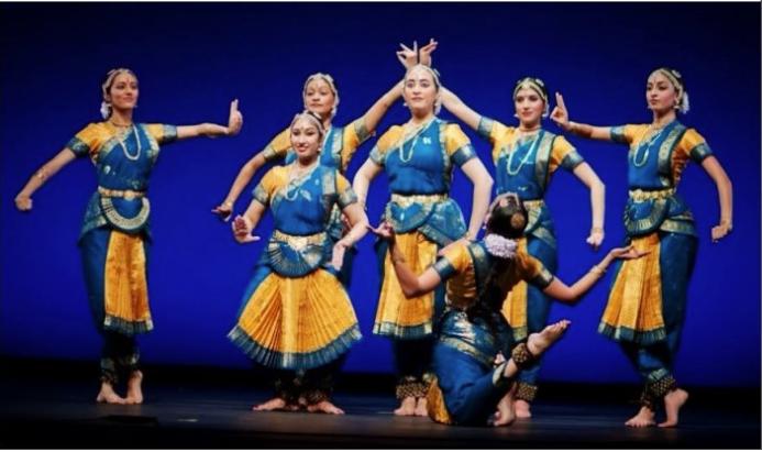 Photo of performance by Ramya Harishankar