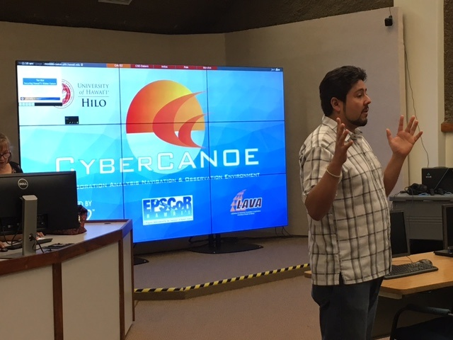 CyberCANOE at UH Hilo
