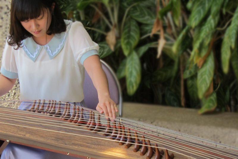 Guzheng performance at QLC