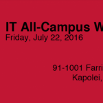 IT All-Campus Workshop 2016 Logo