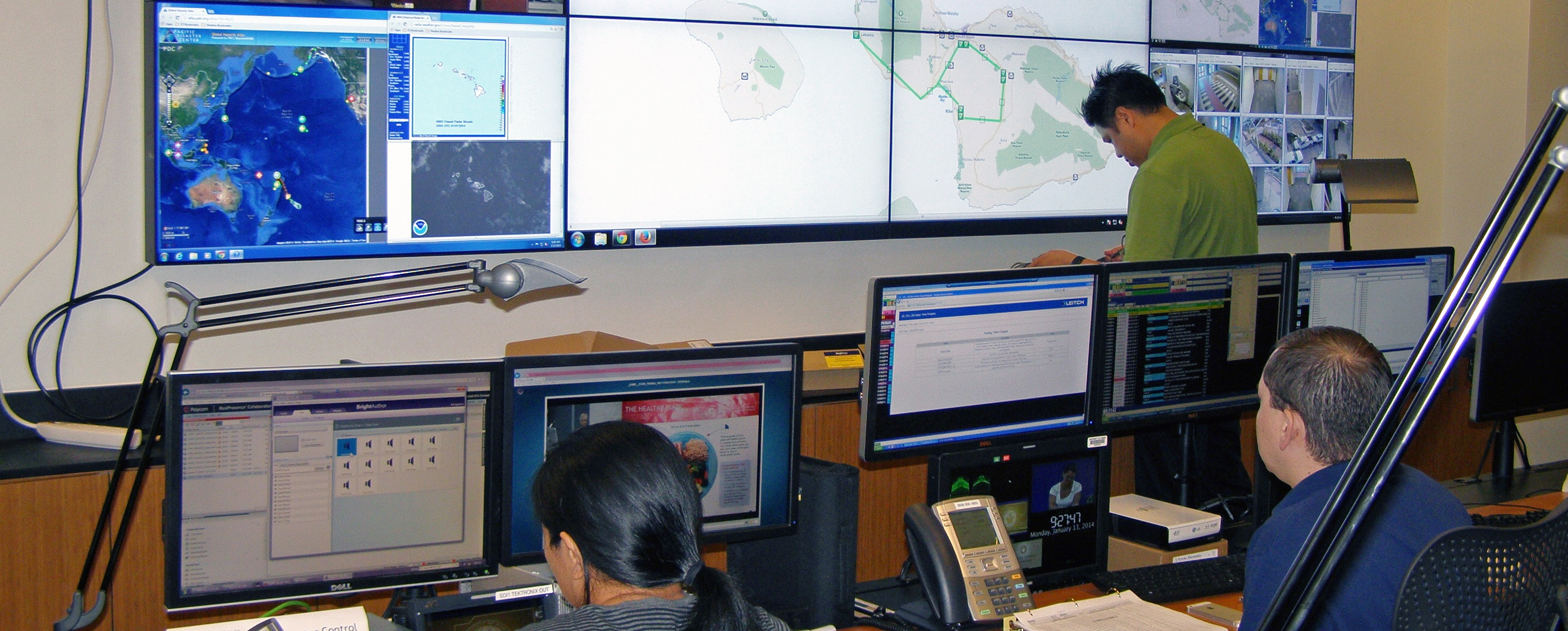Staff in IT Center