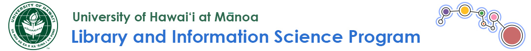 UHM Library and Information Science Program Logo