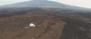 HI-SEAS habitat on Mauna Loa from 2015.