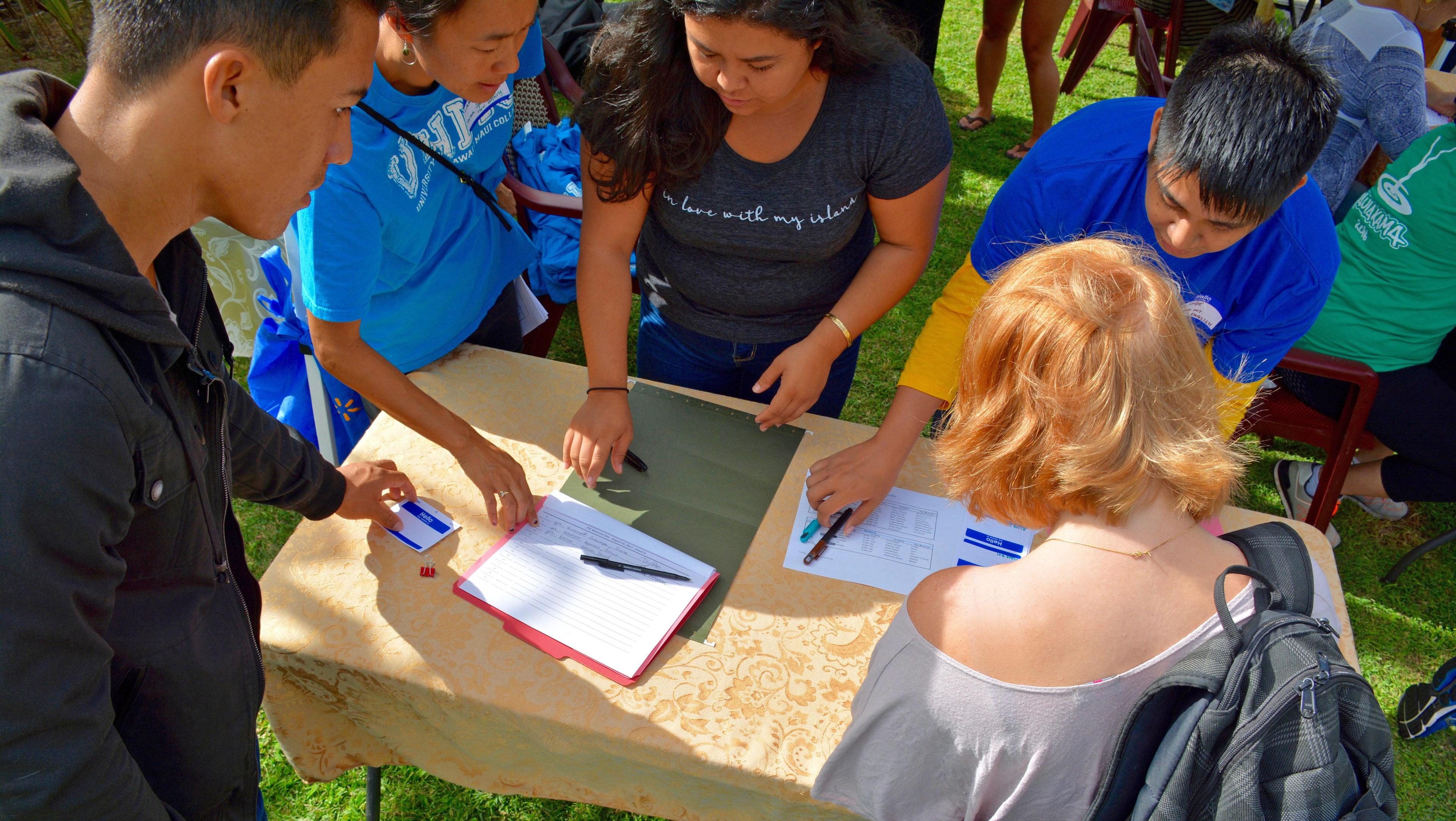 Uh Maui College >> Maui Uh Maui College Holds Fall Registration Outreach In High