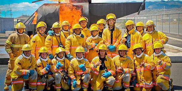 Honolulu Recruits Graduate As Certified Firefighters