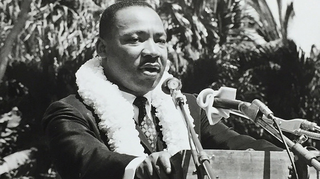 Martin Luther King Jr. Speaking At University Of Hawaii