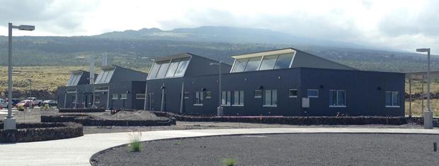 Hawaii Community College Palamanui buildings