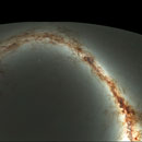 Compressed view of the visible sky