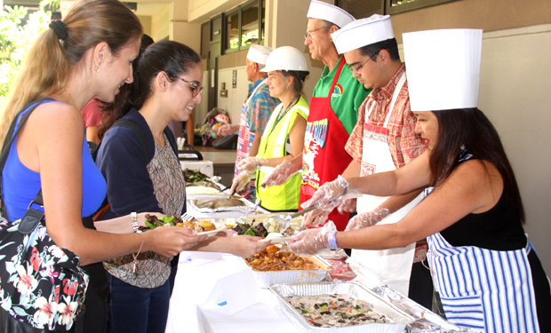 Annual Tradition Of Serving Hot Meals To Law Students Going Strong