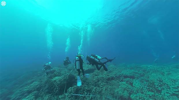 Underwater Data Collection Training In 360