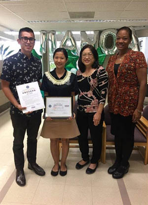 Admission Counselor Honored With Department Of Defense Patriot Award