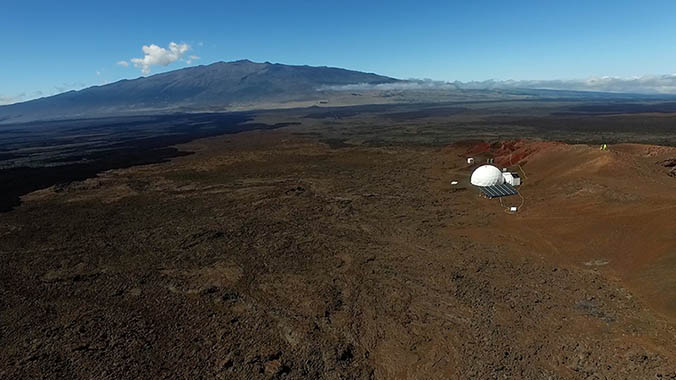 HI-SEAS Dome On Mauna Loa